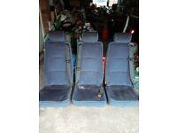 Seats for camper van