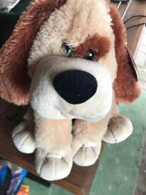 Singing and dancing toy dog