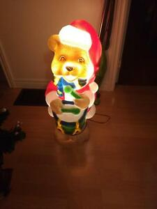 Drummer boy light up bear