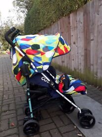 Cosatto To and Fro .Reversible folding Double buggy. From birth .Good condition