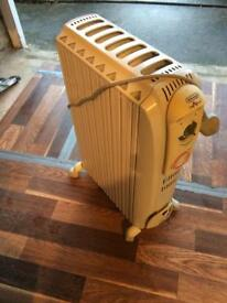 Delonghi radiator 2Kw with timer
