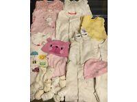 0-3 months old clothes bundle