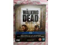 NEW STILL SEALED BLUE-RAY THE WALKING DEAD SEASON 1-5