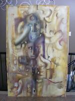 Paul Gosen Original Canvas Painting
