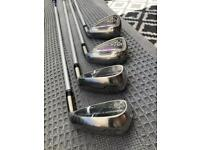 BENROSS LADIES PEARL 1/2 SET IRONS. 5,7,9,SW. NEW