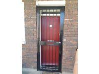 Security gate door