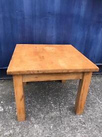Solid wood coffee table FREE DELIVERY PLYMOUTH AREA