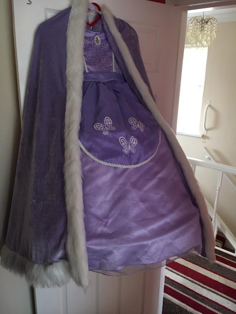 Bespoke princess dress 5-6years