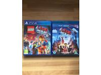Lego Movie PS4 Game and The Lego Movie on Blu Ray
