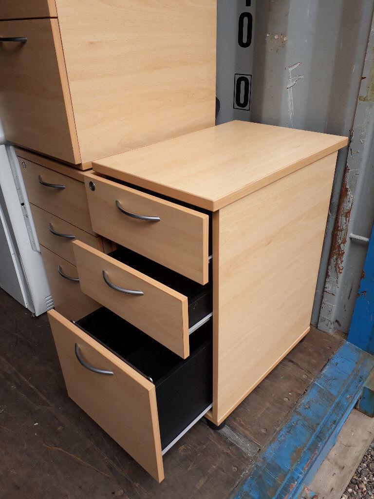 Office Pedestal Drawers Under Desk Cabinet In Sudbury