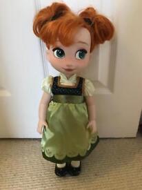 Disney animator Anna doll (frozen)