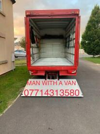 MAN WITH A LUTON VAN WITH TAIL LIFT ANYTHING TO BE MOVED ? 07714313580