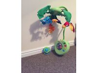 Fisher Price baby Mobile with remote
