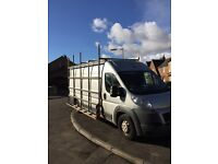 Window rack and roof rack to fit LWB fiat ducato