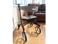 Brand New Unused Drive Medical Nitro Rollator - Black - Very light weight