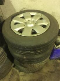 "Citroen Berlingo 15"" Steel Wheels and Hub Caps / Wheel Trims"