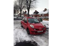 Nissan micra 2006 with mot