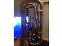 Vintage 1931 Boosey & co. Tuba euphonium. 4 value.
