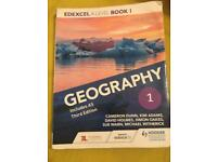 Edexcel A level Geography book 1