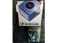 Boxed Nintendo game cube