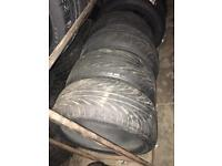"""18"""" tyres as new"""