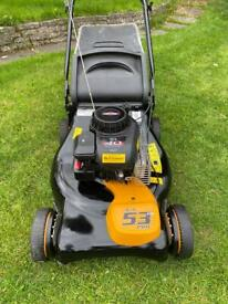 MCCULLOCH 2in1 Petrol self Propelled lawnmower mulch or collect serviced sharpened 53cm cut mower
