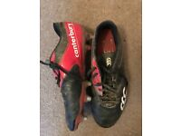 CANTERBURY RUGBY BOOTS - Size 8