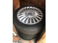 4 X 175/65R15 Part Worn (Like New) Tyres with Trims
