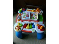 Leapfrog toy activity table