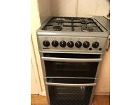 Beko Gas cooker, hobs , double oven/grill, fully function, clean