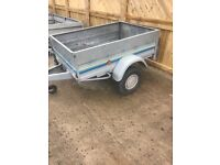 5 x 3 trailer with tilting action