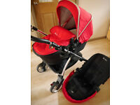 Pram and carrycot Silver Cross