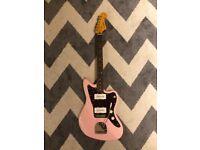 Fender Squire Jazzmaster FSR Shell Pink