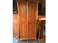 Bedroom Furniture, wardrobe, 1 bedside locker, 1 small chest of drawers, single head board
