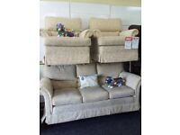 Exdisplay g plan sofa chair set