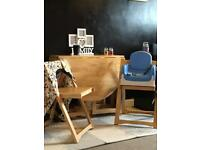 John Lewis butterfly table and chairs