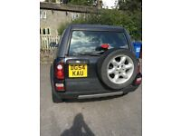 54 plate freelander, no mot
