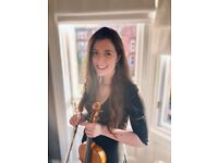 Violin + Piano Lessons Online (All ages/abilities)