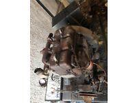 Lister 3 cylinder Engine