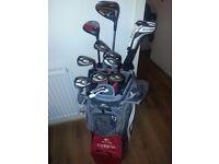 Cobra full golf set £230