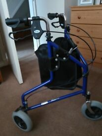 Days lightweight Tri wheeled Walker