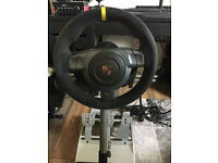 Fanatec GT3RS V2 Wheel + ClubSport Pedals + Wheel Stand