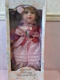 "The Leonardo Collection - Porcelain Doll ""Rosie"""