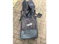 Golf Flight Bag Two Wheeled