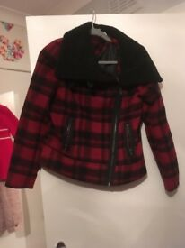 Red herring jacket