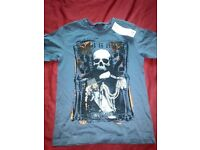 BNWT Boys Skull T-shirt 10-11Yrs