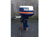 25 HP Two Stroke Penta outboard