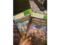 Xbox 360 games minecraft bundle
