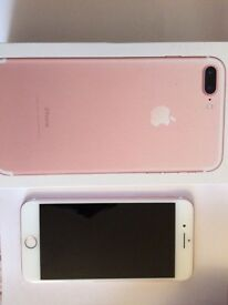 iPhone 7 plus, Rose Gold, Fresh