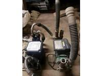 2 Used Shower Pumps Grundfos & Monsoon